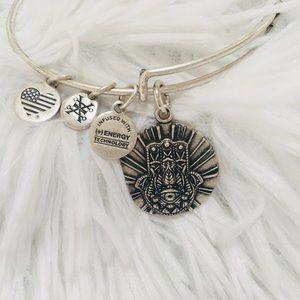 Alex and Ani Hand of Fatima Charm Bracelet